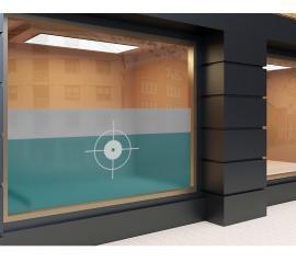 Milchglasfolie Innen bedruckt individuelles Format