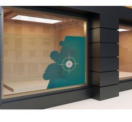 Hinterglas Transparente Folie alle Formate